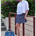 8 Inspirasi Outfit dengan Sepatu Putih 2