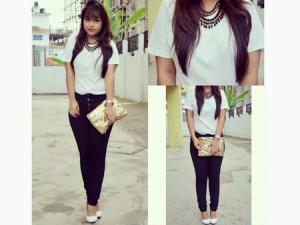 8 Inspirasi Outfit dengan Sepatu Putih 7