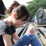 Janinna W, Artis Youtube Manis Blasteran Jerman - Thailand (8)
