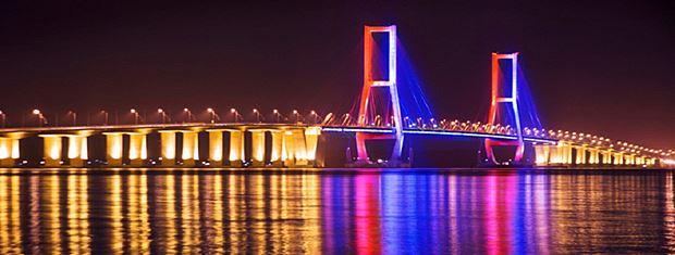 Tempat Wisata Surabaya Jembatan Suramadu