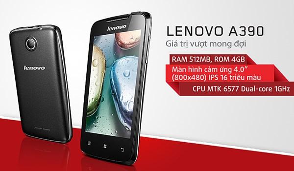 Melirik Spesifikasi Lenovo A390, Smartphone Murah Untuk Nusantara