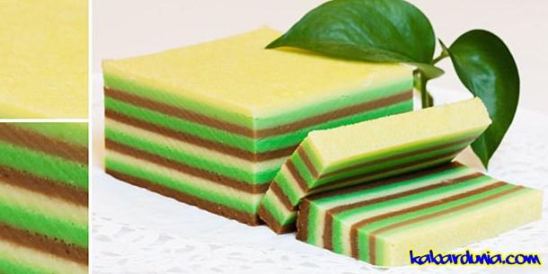 Resep Kue Lapis Yang Enak Dan Mudah Pembuatannya