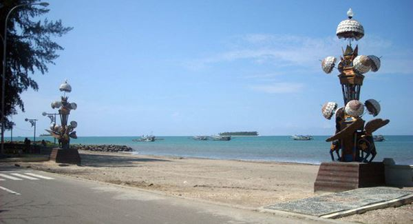 Keindahan Surga Pantai Gandoriah di Pariaman Sumatera Barat