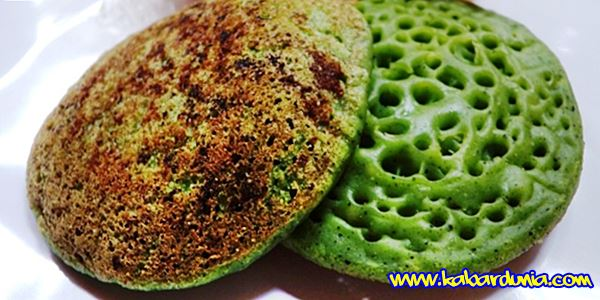 Resep Kue Serabi Hijau Tradisional