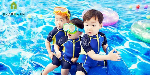 Melihat Kelucuan Dae Han, Min Guk, Man Se Triplet saat Sesi Pemotretan