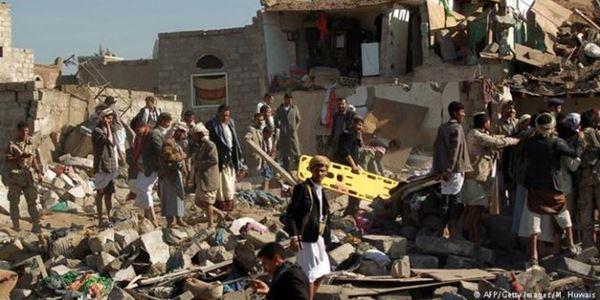 Digempur 100 Jet Arab Saudi, Ibu Kota Yaman Luluh Lantak