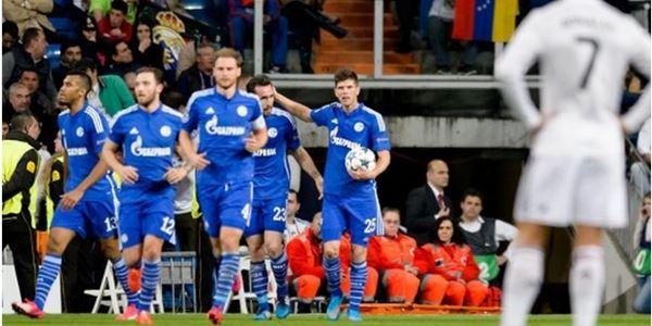 Hasil Liga Champions : Schalke Sukses Bekuk Real Madrid dengan 4 Gol
