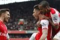 Hasil Liga Inggris : Arsenal Bantai West Ham Tiga Gol Tanpa Balas