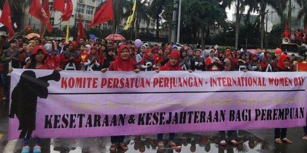Ini Harapan Para Buruh pada International Women's Day