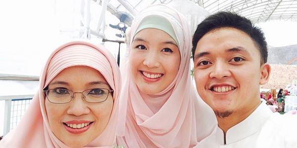 Mirip Sandra Dewi, Menantu Aa Gym Bikin Heboh Netter