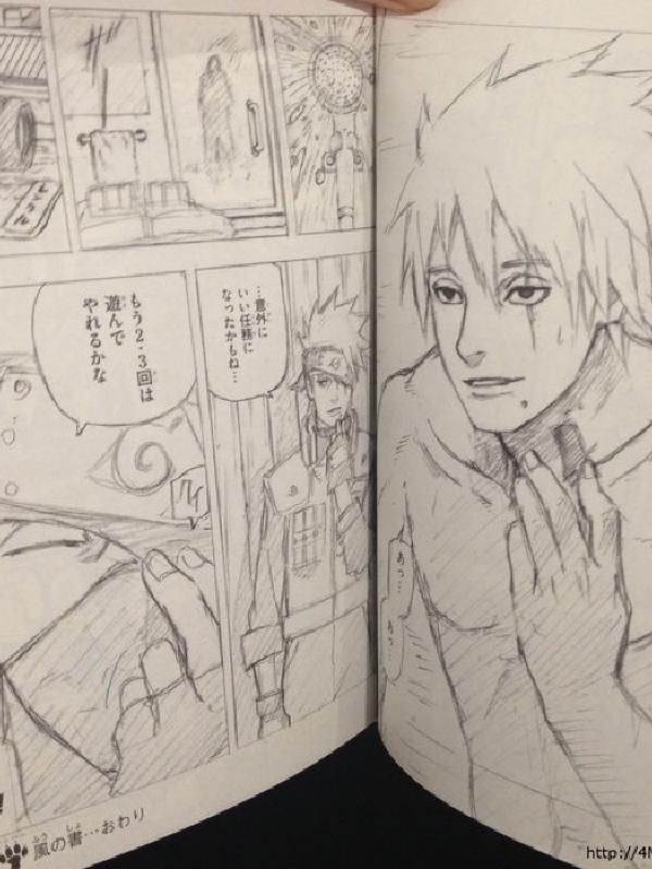 Akhirnya Kishimoto Bocorkan Muka Kakashi, Penasaran yuk Intip disini!