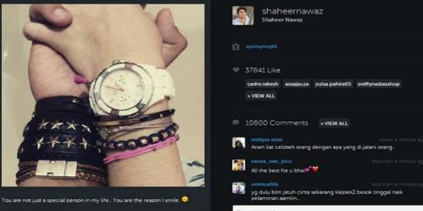 Ayu Ting Ting dan Shaheer Sheikh Kembali Umbar Kemesraan di Instagram