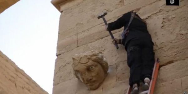 ISIS Kembali Unggah Video Pengahncuran Artefak Ribuan Tahun di Irak