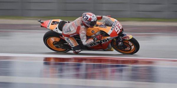 Jadi yang Tercepat, Marquez Pimpin Balapan di Seri Kedua MotoGP 2015