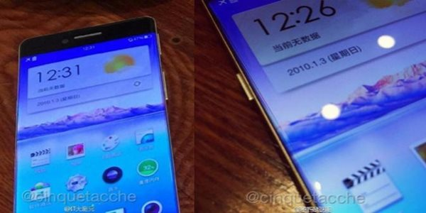 Oppo R7 Smartphone Tipis Tanpa Bezel