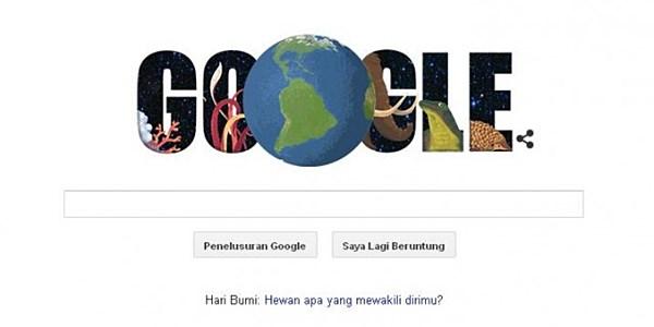Yuk, Ikuti Serunya Bermain Kuis Hari Bumi yang diadakan Google!