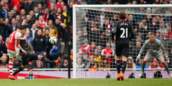 hasil akhir arsenal liverpool