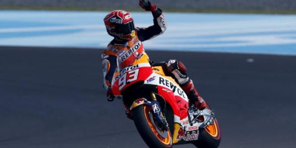 Marc Marquez Start Terdepan dalam GP Perancis