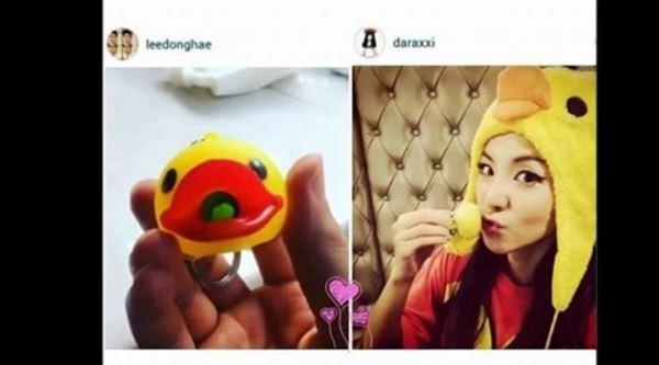 3 Foto Ini Bukti Donghae Super Junior dan Dara 2NE1 Pacaran