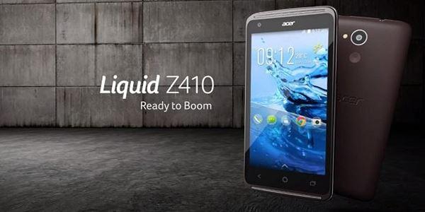 Luncurkan Smartphone 4G, Ini Spesifikasi dan Harga Acer Liquid Z410