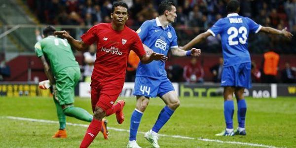 Sevilla vs Dnipro Bacca Tampil Ciamik, Sevilla Resmi Jadi Juara Eropa