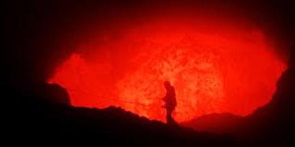 Foto Kronologi Jatuhnya Ery Ke dalam kawah Gunung merapi