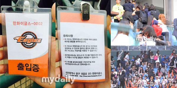 Demi Melihat Baekhyun, EXO-L Kembali Berulah di Pertandingan Bisbol 2