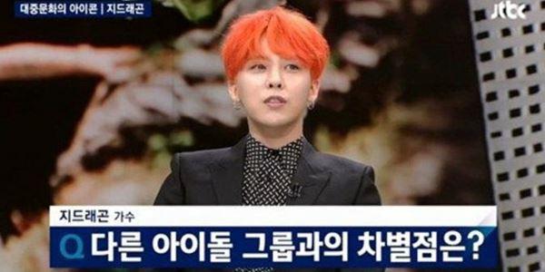 G-Dragon Big Bang Dikritik Netter Karena Bandingkan SHINee dengan EXO