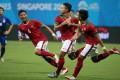 Indonesia ditekuk Thailand 5 Gol Tanpa Balas