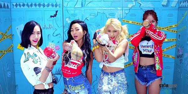 Luncurkan Teaser  'Shake It', Sistar Tampil Berwarna dan Menggoda