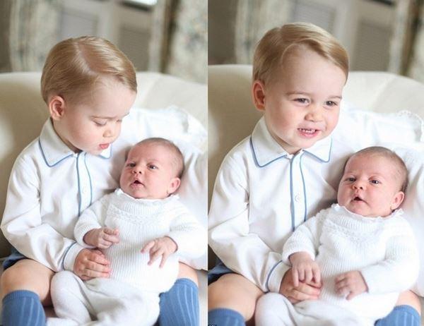 Tampil Imut, Foto Pangeran George dan Putri Charlotte Tuai Pujian 2