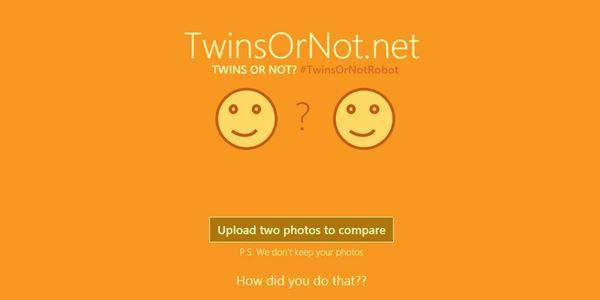 TwinsOrNot.net Aplikasi Baru Pendeteksi Kemiripan Wajah dengan Idola