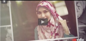 Video Tutorial Hijab Segi Empat Simple Ala Zaskia Mecca