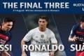 Messi Terbaik UEFA, Ronaldo Kalah Suara Dari Suarez