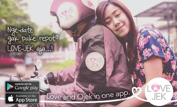 Love-Jek, Ojek Premium Sahabat Baru Bagi Para Jomblo