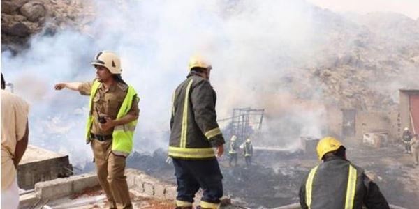 Sebuah Hotel di Makkah Terbakar, Ribuan Jamaah Haji Diungsikan