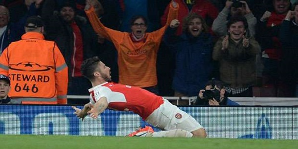 Hasil Liga Champions Arsenal Vs Bayern Munchen: Good Job Arsenal!