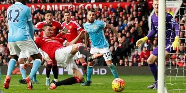 Hasil Liga Inggris Derby Manchester Berakhir Tanpa Ada Pemenang