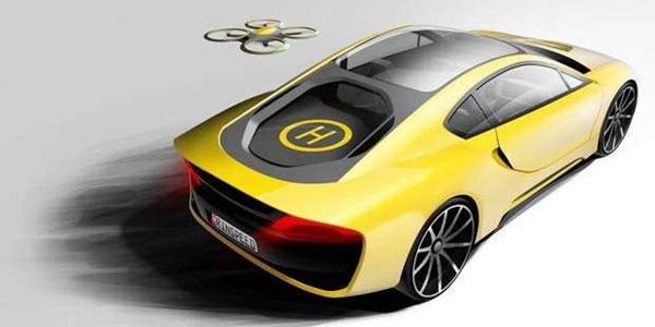 Rinspeed, Mobil Canggih yang Dilengkapi dengan Personal Drone