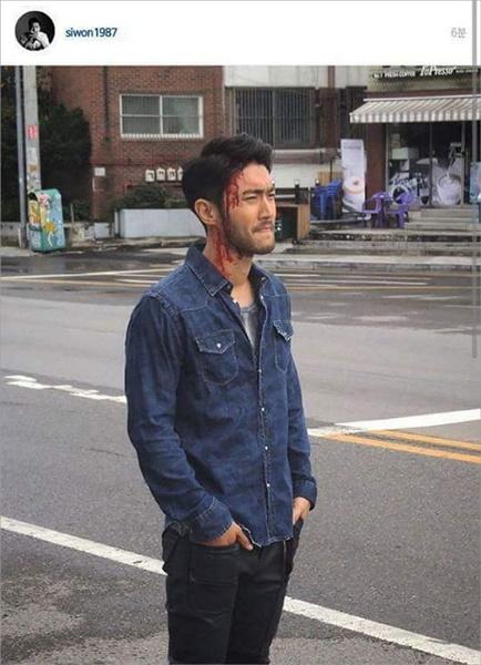 Siwon Akhirnya Hapus Fotonya yang sedang Berdarah di 'She Was Pretty' 2