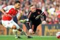Tampil Tregginas, Arsenal Menangkan Laga Arsenal vs Manchester United