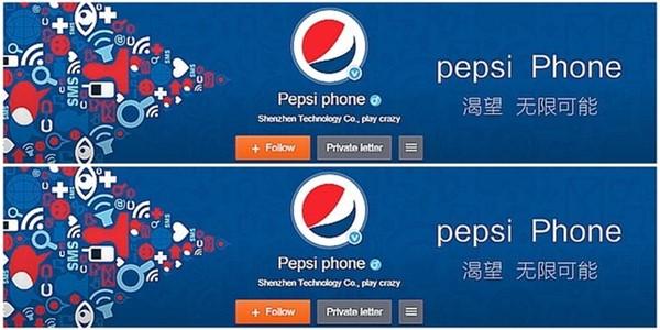 Tampil dengan Tagline 'Pepsi Phone', Pepsi Bakal Produksi Smartphone?