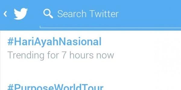 Selain Google Doodle, Hari Ayah Nasional Juga Jadi Trending di Twitter