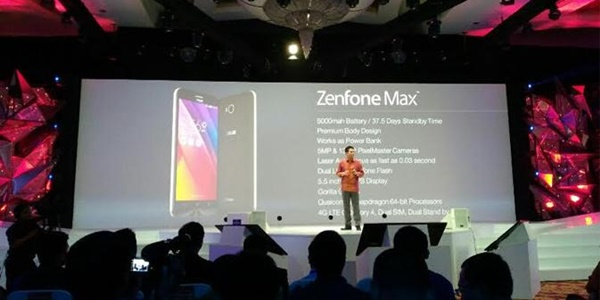 harga Zenfone Max, Smartphone Spesifikasi Gahar dengan Baterai 5000 mAh