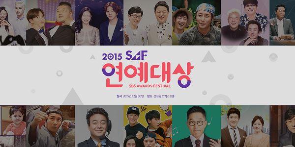 Ada 2 Daesang, Inilah Daftar Pemenang 2015 SBS Entertainment Awards