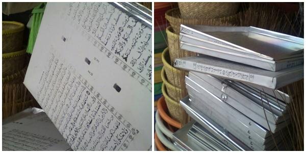Astagfirullah, Usai Terompet Kini Beredar Cetakan Kue Motif Al Quran
