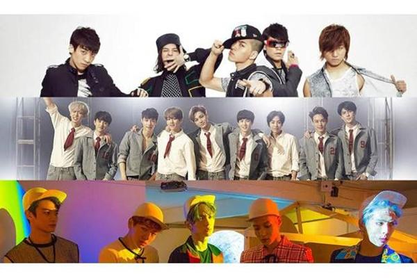 Kalahkan Big Bang & Suju, Album EXO Jadi yang Terlaris Sepanjang 2015