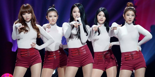 Meski Mabuk, Netizen Puji Suara Merdu EXID di 'Hot Pink' versi Akustik