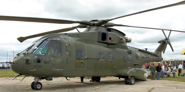 TNI AU Pinjam Dana Asing untuk Borong Sembilan Unit Helikopter AW-101