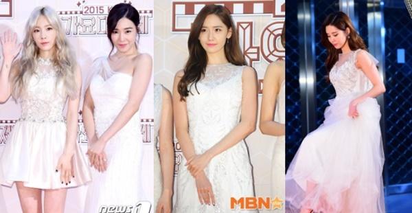 Usung Tema Putih, SNSD Tampil Seksi dan Anggun di KBS Gayo Daechukje 2